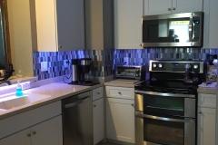 Kitchen renovation back splash West Chase bourgoing-construction