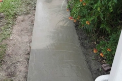 concrete ramp
